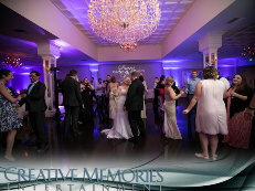Arden Hills Gold Room Lighting by Creative Memories Entertainment